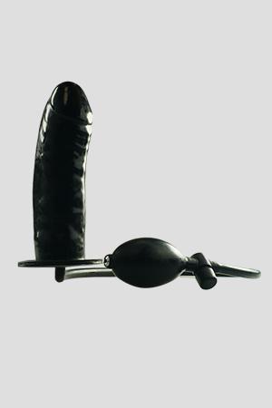 Plug Anale Gonfiabile Bigger Joy Nero 15cm