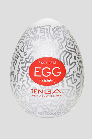Masturbatore TENGA Egg Party Keith Haring