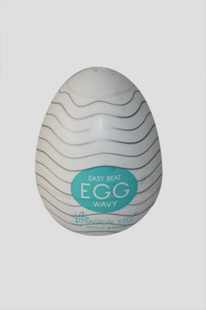 Masturbatore Magical Kiss Egg Wavy
