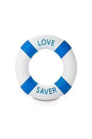 Anello Fallico Buoy Love Saver Diam 3cm Azzurro
