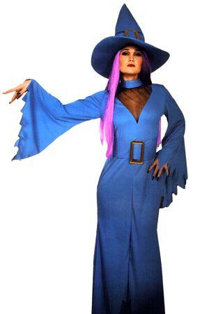 Costume Sexy da Strega Turchese