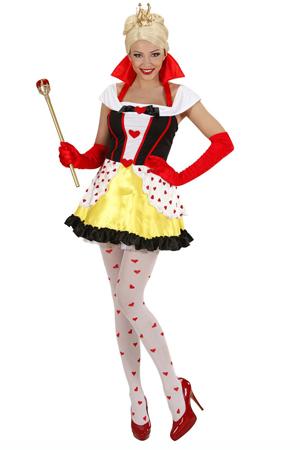 Costume Sexy Regina Di Cuori 2