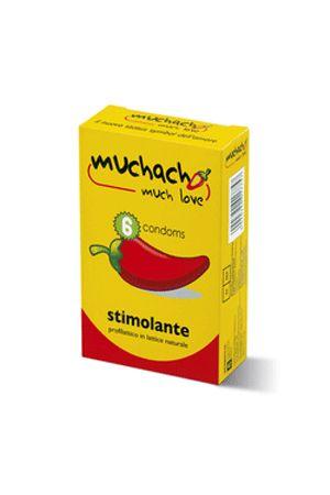 Profilattici Stimolanti Muchacho 6 Pezzi