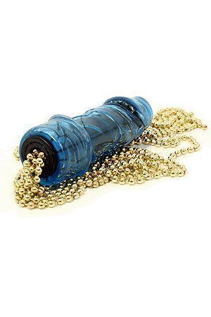 Frusta a Trecce Metalliche Azzurra