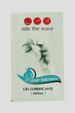 Lubrificante Intimo Ride The Wave con Acido Ialuronico Monodose 5ml 4PZ