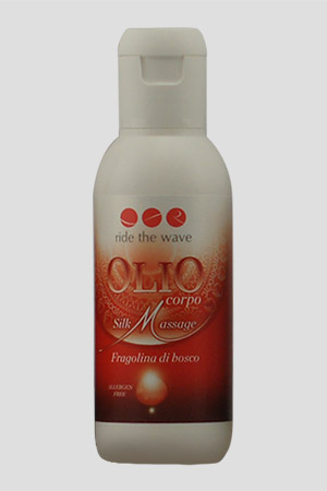 Olio per Massaggi Ride The Wave alla Fragolina di Bosco 100ml