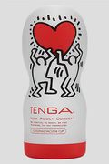 Masturbatore TENGA Deep Throat Keith Haring