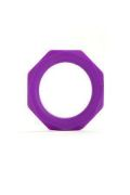 Anello Fallico Octagon Diam 3,2cm Medium Viola