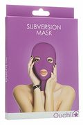 BDSM Maschera Subversion Viola
